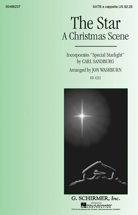 The Star (A Christmas Scene) - Incorporates Special Starlight by Carl Sandburg