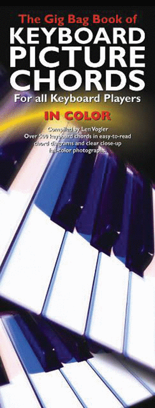 The Gig Bag Book of Keyboard Picture Chords in Color