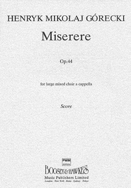 Miserere, Op. 44