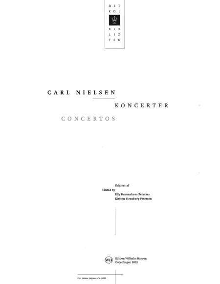 Concertos Op. 33 & 57 Full Score