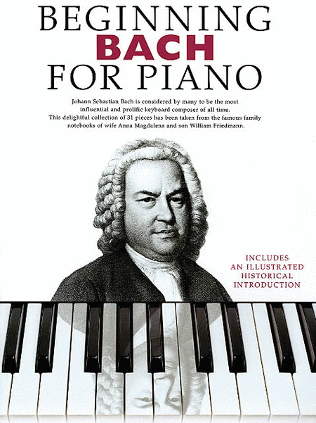 Beginning Bach for Piano