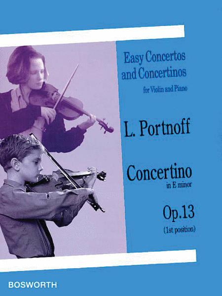 Concertino in E Minor, Op. 13
