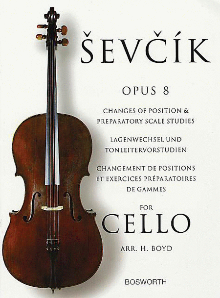 Sevcik for Cello - Opus 8