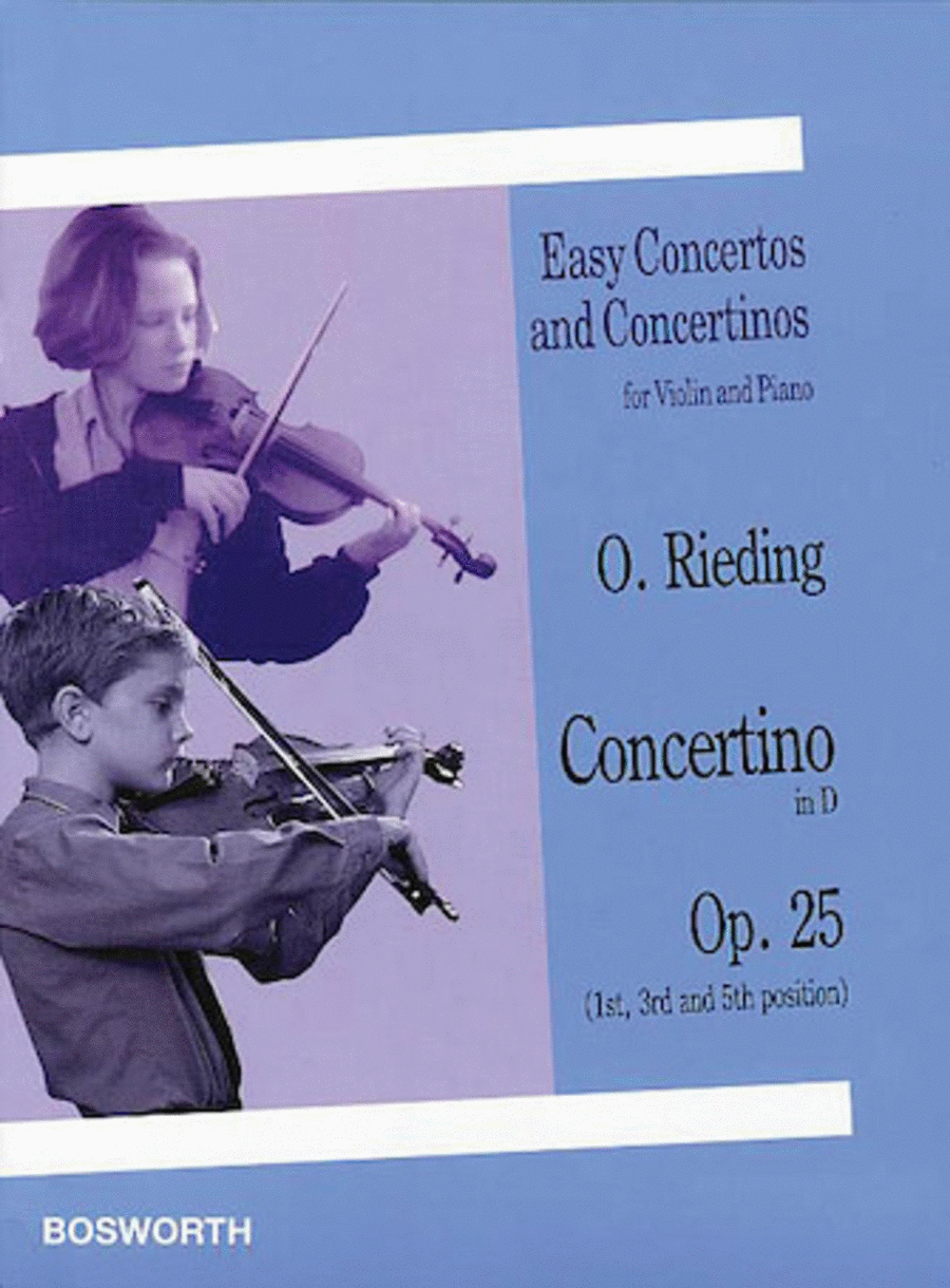Concertino in D, Op. 25