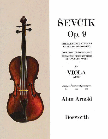 Sevcik for Viola - Opus 9