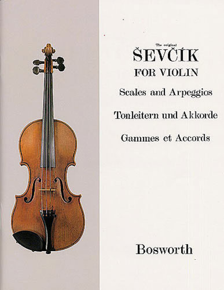 Sevcik Violin Studies: Scales and Arpeggios