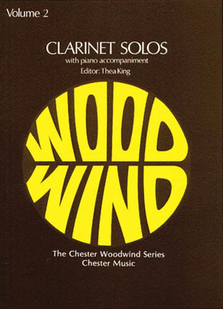 Clarinet Solos - Volume 2