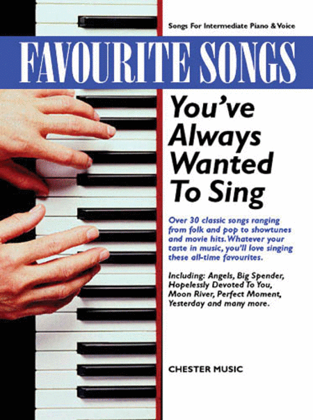 Favorite Songs You've Always Wanted to Sing