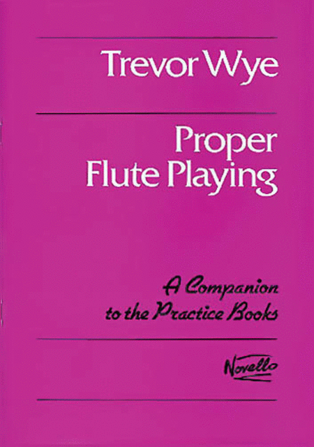 Proper Flute Playing