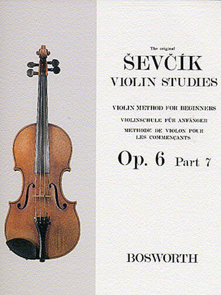 Sevcik Violin Studies - Opus 6, Part 7