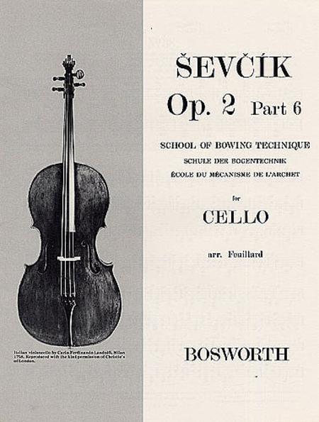 Sevcik for Cello - Opus 2, Part 6
