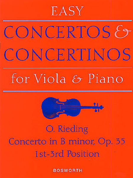 Concerto in B Minor for Viola and Piano Op. 35