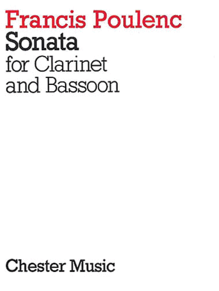 Sonata for Clarinet and Bassoon
