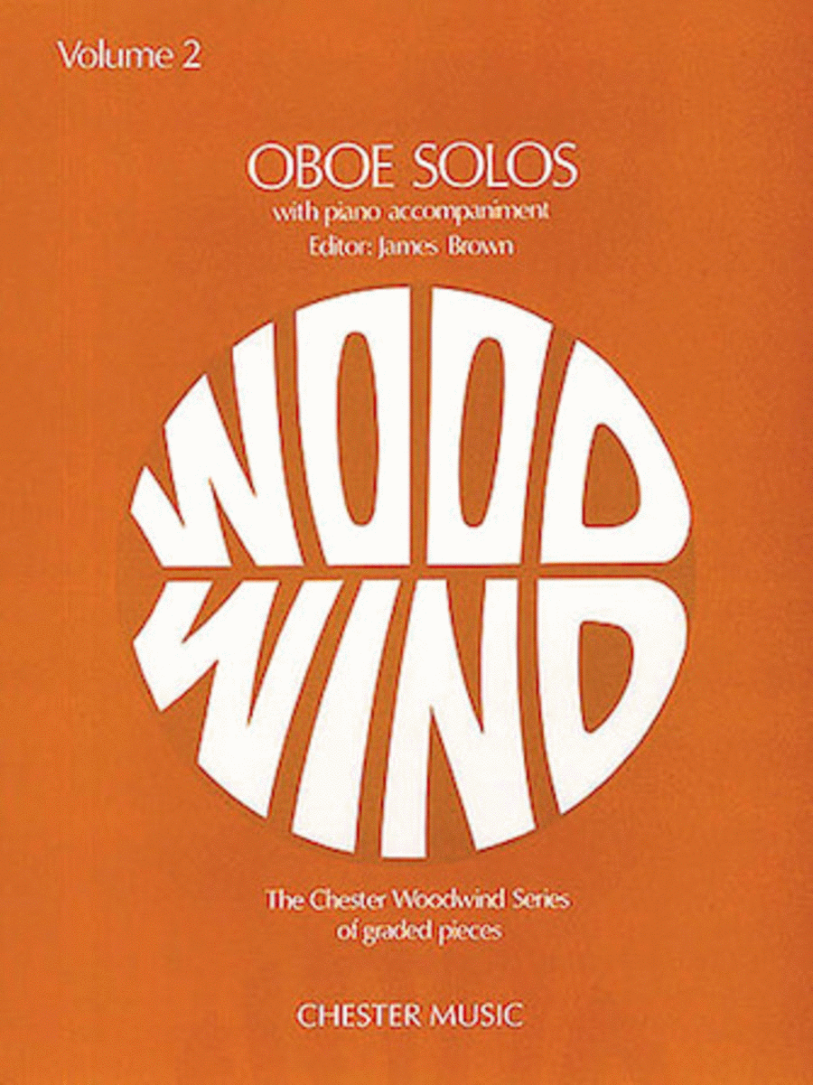 Oboe Solos - Volume 2