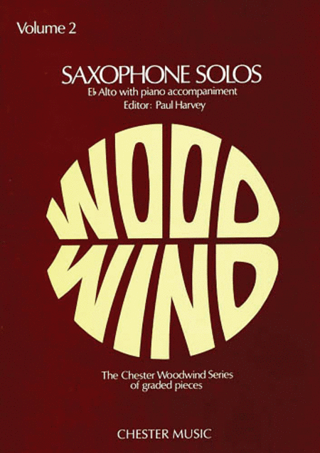 Saxophone Solos - Volume 2