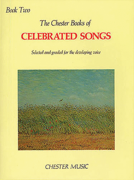 The Chester Book of Celebrated Songs - Book 2