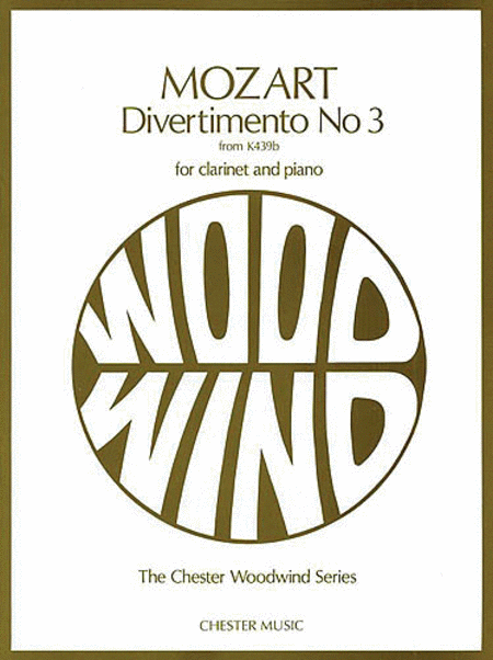 Divertimento No. 3 from K439b