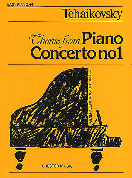 Pyotr Ilyich Tchaikovsky: Theme From Piano Concerto No.1 (Easy Piano No.44)