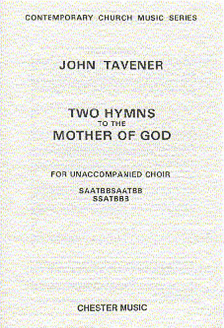 Two Hymns to the Mother of God