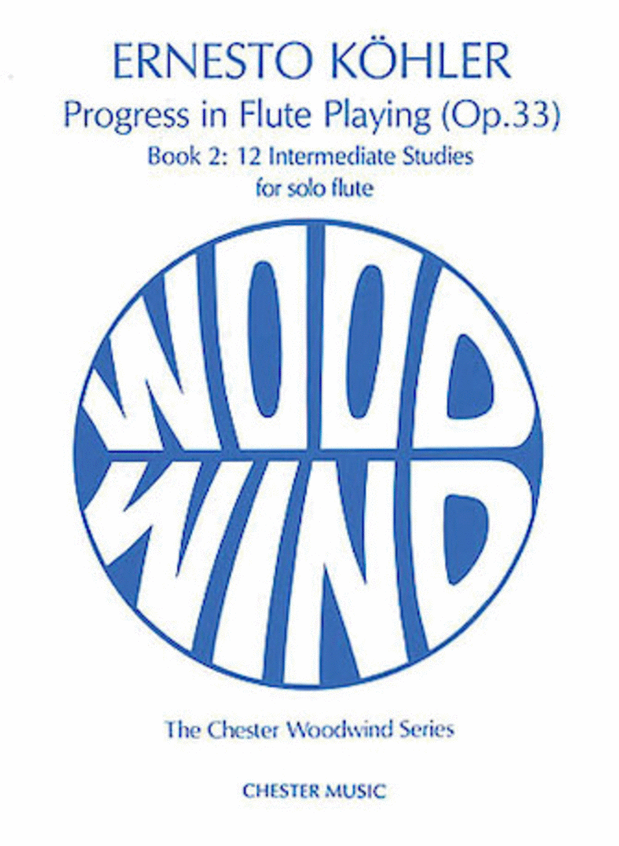 Progress in Flute Playing Op. 33 - Book 2