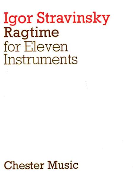 Igor Stravinsky: Ragtime For Eleven Instruments