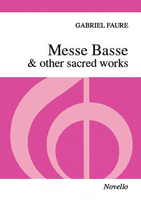 Messe Basse & Other Sacred Works