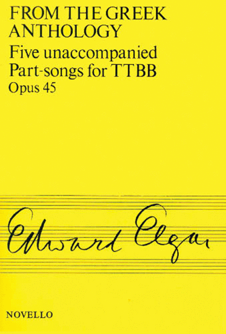 Five Unaccompanied Part-Songs for TTBB - Op. 45
