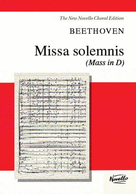 Missa Solemnis (Mass in D)