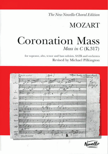 W.A. Mozart: Coronation Mass: Mass In C K.317 (Vocal Score)