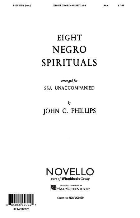 Eight Negro Spirituals