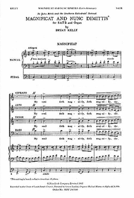 Magnificat and Nunc Dimittis (Latin American)