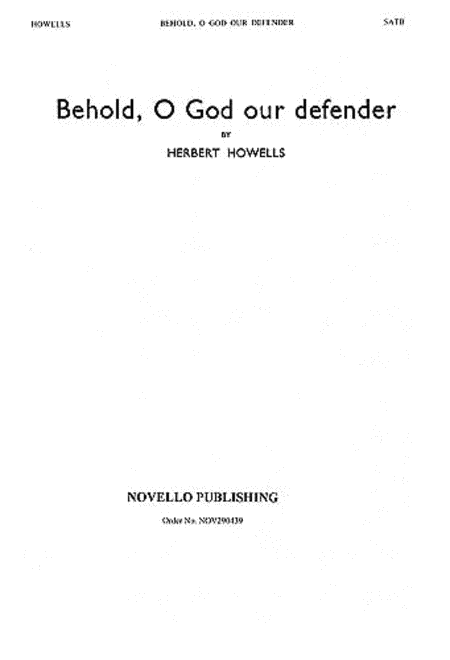 Behold, O God Our Defender
