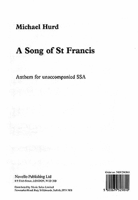 A Song of Saint Francis