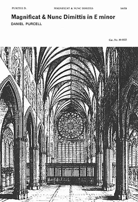 Magnificat and Nunc Dimittis in F Minor