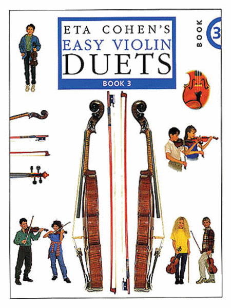 Eta Cohen's Easy Violin Duets - Book 3
