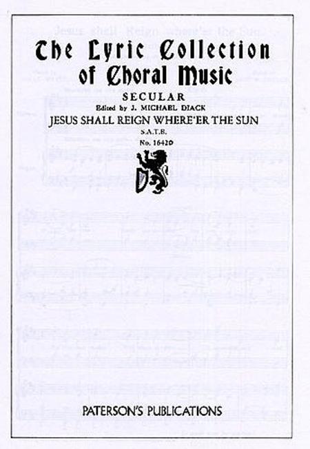 Jesus Shall Reign Where'er the Sun
