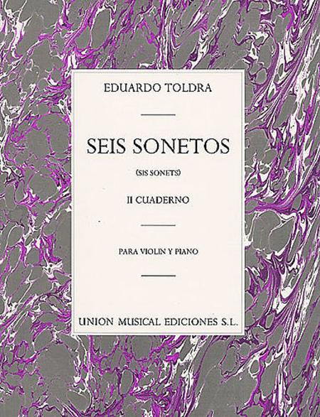 Eduardo Toldra: Seis Sonetos Vol. II (Violin/Piano)