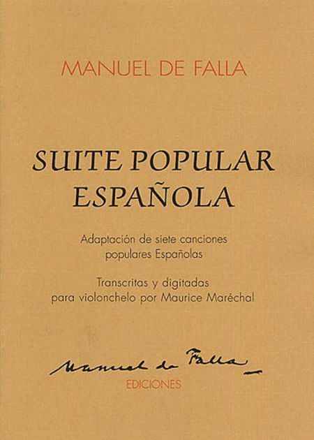 Suite Populaires Espagnole