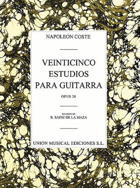 25 Estudios para Guitarra