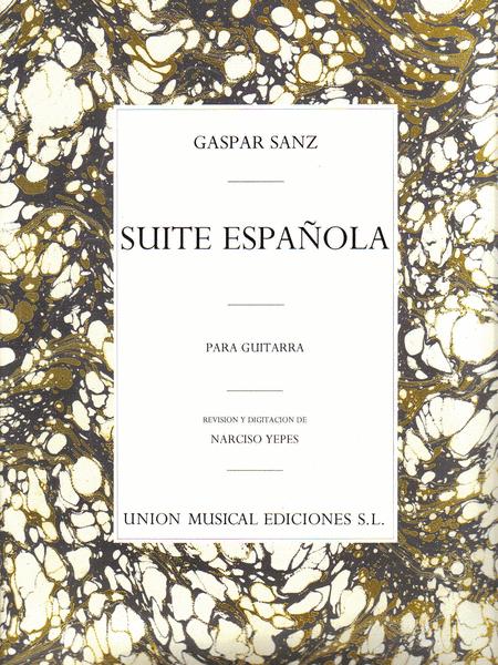 Gaspar Sanz: Suite Espanola