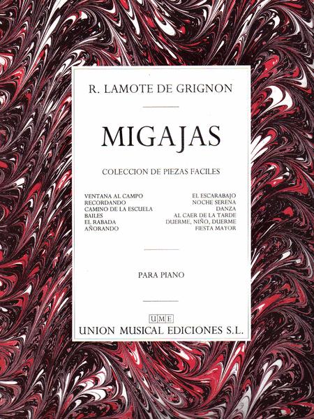 R. Lamote De Grignon: Migajas Coleccion (Piano)
