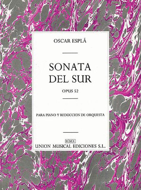 Espla Sonata Del Sur Op.52 Pf/orch Solo Pf/pf Red