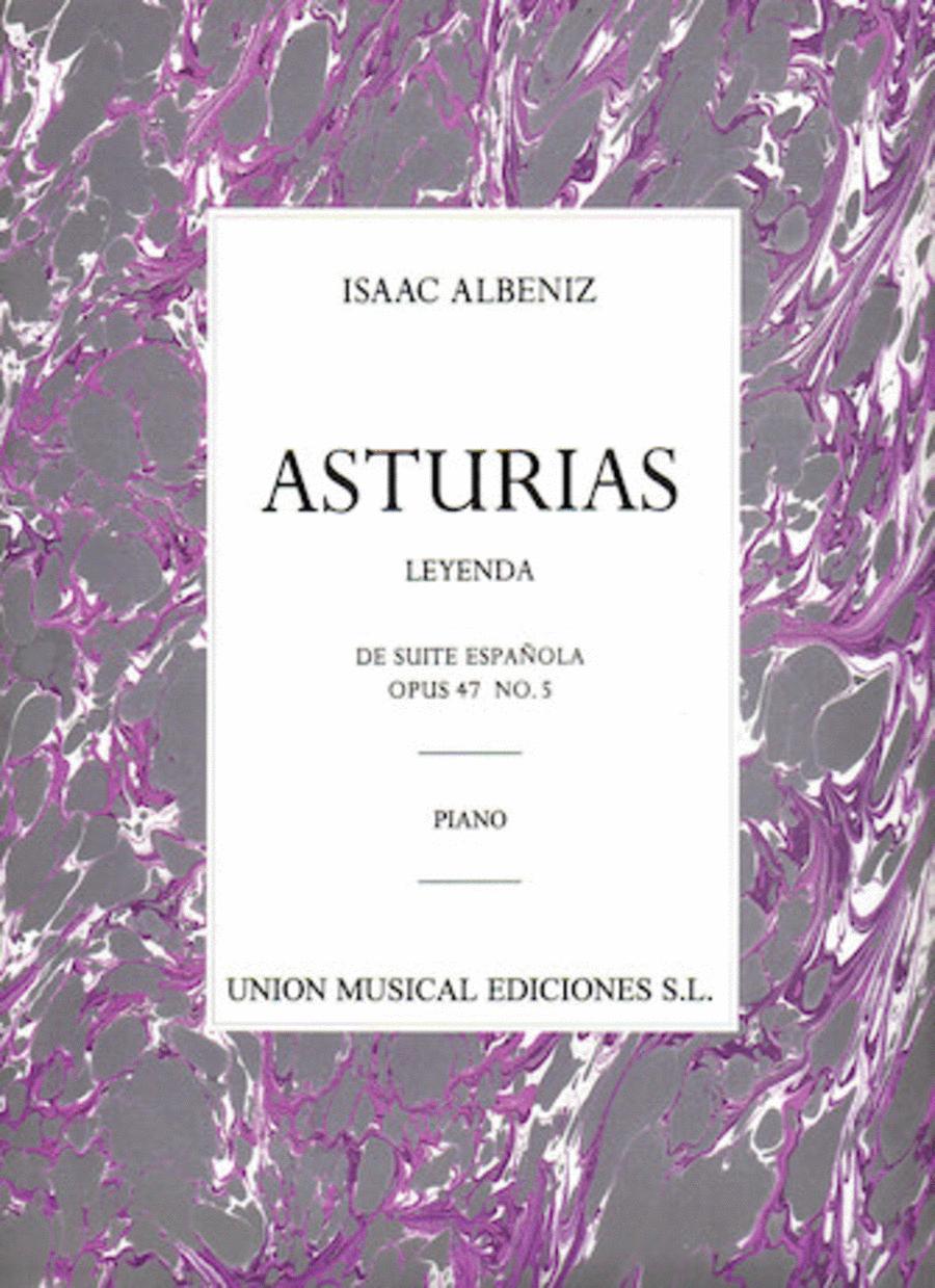 Albeniz: Asturias (leyenda) De Suite Espanola Op.47 No.5