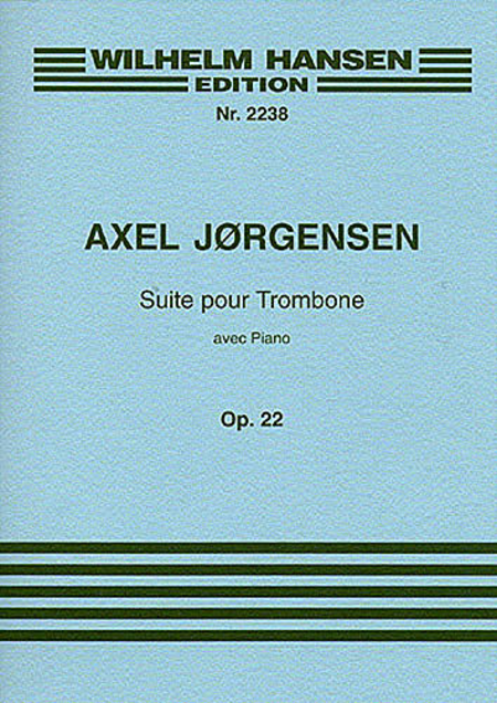 Suite for Trombone and Piano Op. 22
