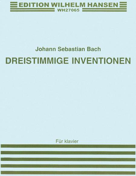 J.S. Bach: Dreistimmige Inventionen