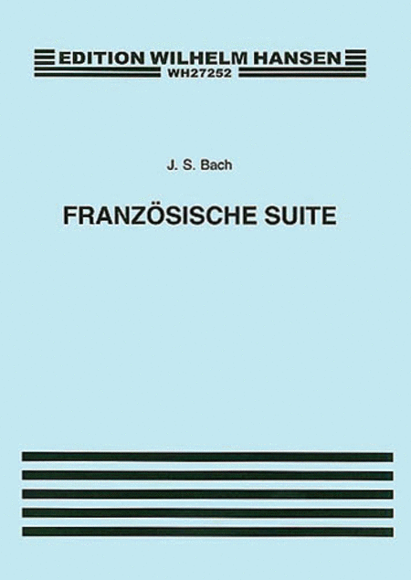 French Suites, BWV 812-817