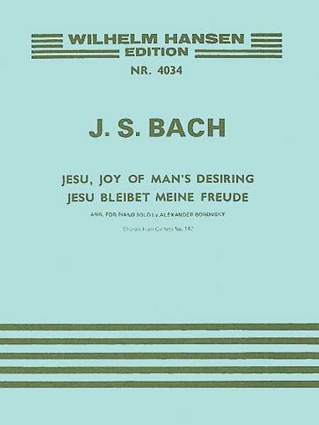 J.S. Bach: Jesu, Joy Of Man's Desiring (Piano)