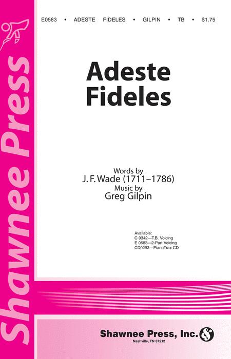 Adeste Fideles 2-part