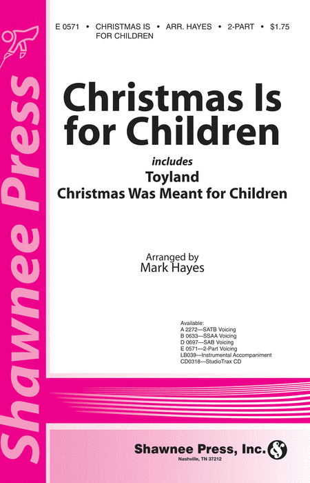 Christmas Is for Children 2-part