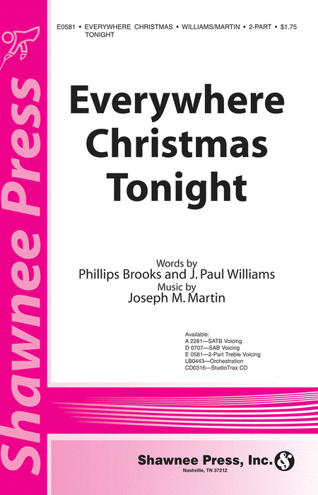 Everywhere Christmas Tonight 2-part